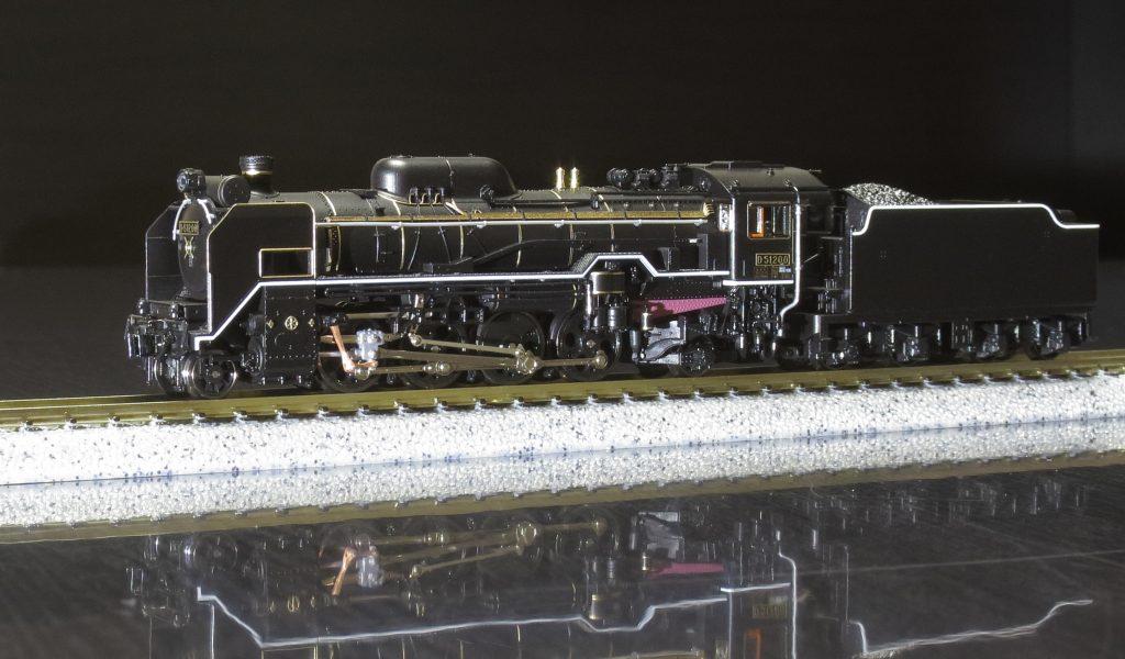 KATO D51 200 リンク機構への改造
