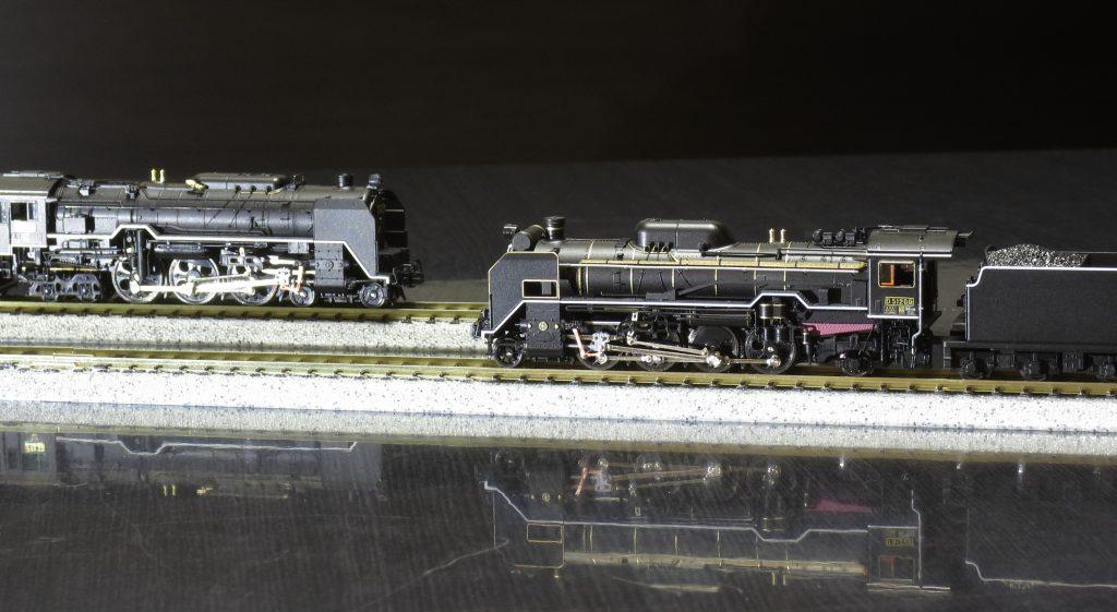 リンク機構への改造:KATO C62 34 と D51 200